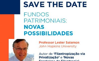 A FJLES é patrocinadora da iniciativa do IDIS junto aos fundos patrimoniais.