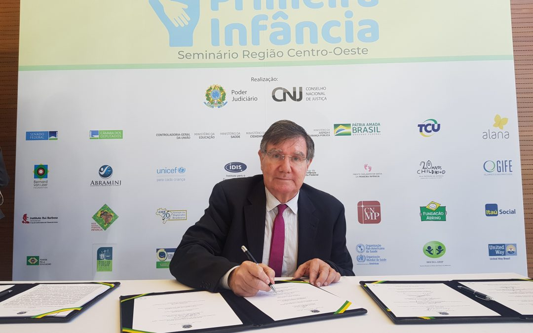 FJLES passa a integrar o Pacto Nacional pela Primeira Infância