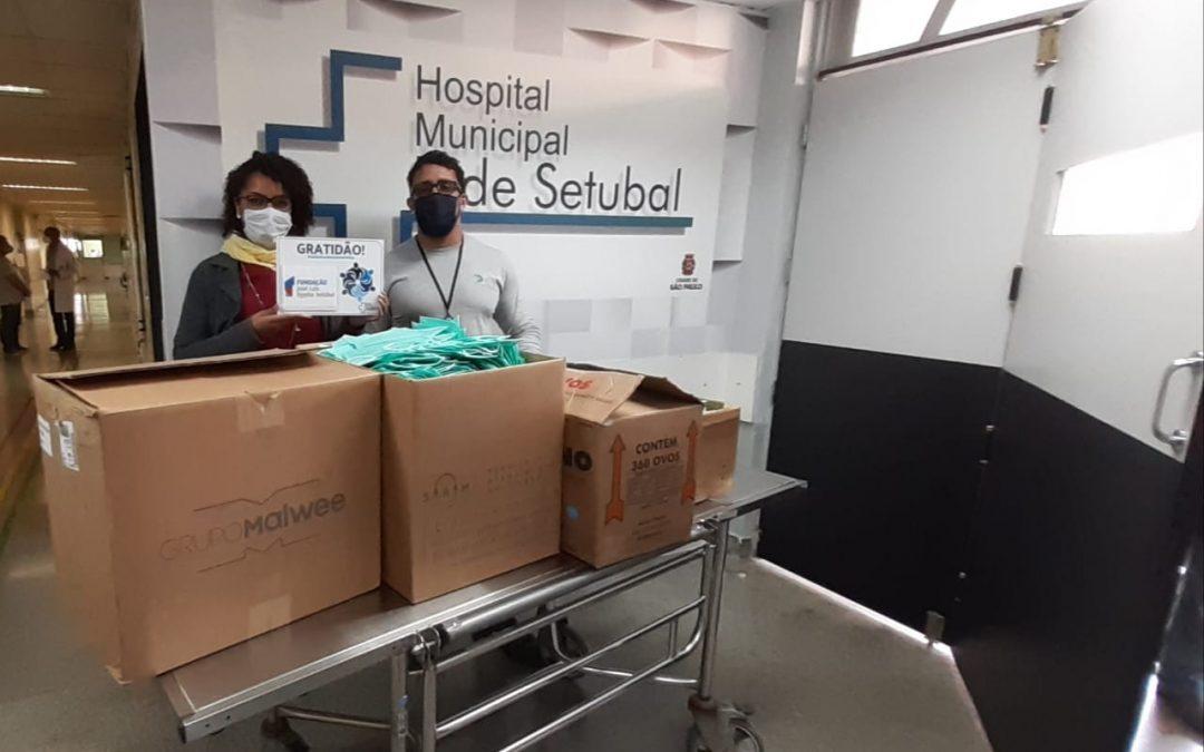 FUNDAÇÃO DOA MÁSCARAS PARA HOSPITAL PÚBLICO